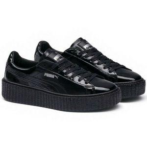 buy popular 741bd 63165 PUMA X Fenty By Rhianna Black Creeper Shoes Sz 6